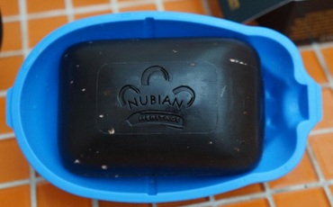 Черное африканское мыло