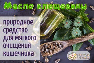 Эффективное средство для очищения кишечника, доступное каждому - касторка