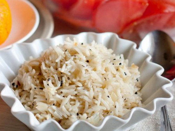 Рис с кунжутом