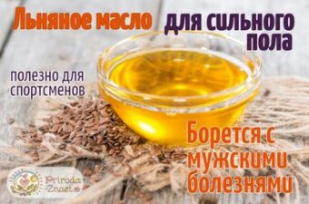 Натуральное масло льна – полезный и доступный продукт